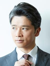 30代40人気★大人男性カット★爽やかかきあげバンク