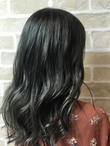 【le chocolat latte上大岡店】透明感暗髪カラー×ふんわりヘア