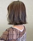暗髪でも透明感!10代20代☆外国人風アッシュハイライト